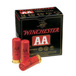 Winchester AA Heavy Target Load, 12 Gauge 2-3/4, #8 Lead Shot, 1-1/8 oz